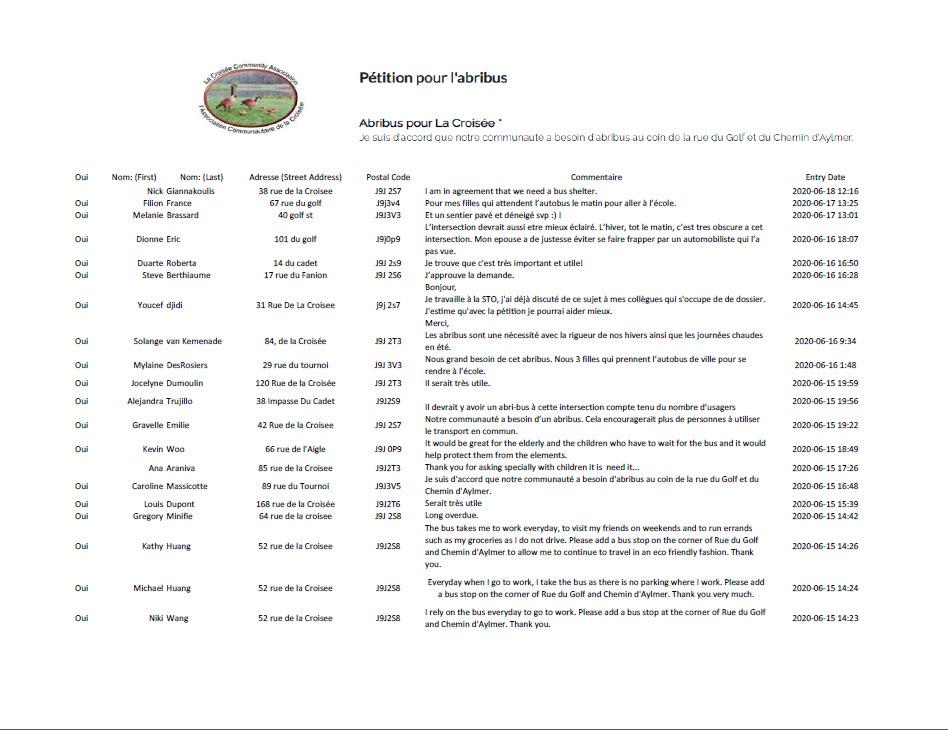 La Croisee- Petition-Aribus-BusShelter